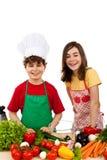 Comer saudável é APROVADO Fotos de Stock Royalty Free
