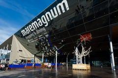 Comercial mitt Maremagnum, Barcelona Royaltyfria Bilder