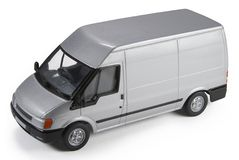 Comercial Van Modelo Imagens de Stock Royalty Free