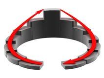 Comercialización del símbolo stock de ilustración