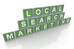 Comercialización local de la búsqueda libre illustration