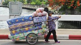 Comerciante de la calle Foto de archivo libre de regalías