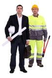 Comerciante e coordenador Fotografia de Stock