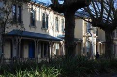Comerciante Houses da rua de Symonds Imagens de Stock Royalty Free