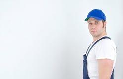 Comerciante no uniforme Fotografia de Stock