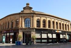 Comerciante Square, calle de Albion, Glasgow, Escocia Imágenes de archivo libres de regalías
