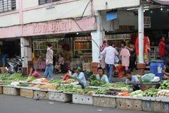 Comerciantes de la calle Fotografía de archivo libre de regalías