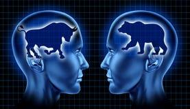 Comerciantes do mercado de valores de acção Imagem de Stock Royalty Free