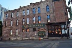 Comerciantes que construyen Nashville TN Fotografía de archivo libre de regalías