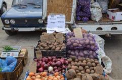 Comercio de calle en Rusia foto de archivo libre de regalías