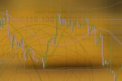 Comercio de las divisas ilustración del vector