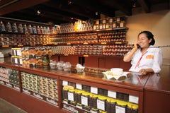 Comercio del chocolate - Oaxaca Foto de archivo libre de regalías