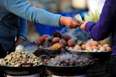 Comercio del mercado Foto de archivo