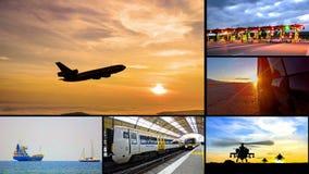 Comercio del negocio del montaje del transporte almacen de video