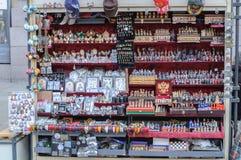 Comercio del recuerdo en St Petersburg Fotografía de archivo libre de regalías