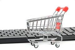 Comercio electrónico Fotografía de archivo libre de regalías