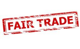 Comercio justo stock de ilustración
