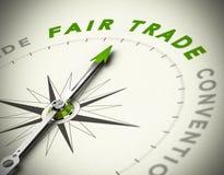 Comercio justo que consulta Imágenes de archivo libres de regalías