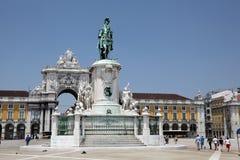 comercio robi Lisbon praca Obraz Royalty Free