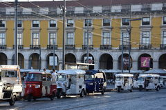 comercioen gör den lisbon portugal pracaen arkivbilder