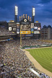 Comerica Park, Detroit. Scoreboard at Comerica Park, home of the Detroit Tigers baseball team Stock Photos