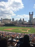 Comerica Park. Photo from a Detroit Tigers game Stock Photos