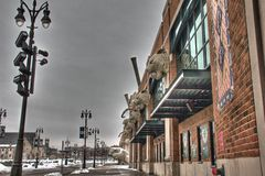 Comerica Park Royalty Free Stock Images