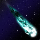 Comet Royalty Free Stock Photo