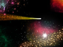 Comet Abstract Stock Photography