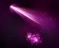 Comet background Royalty Free Stock Photography