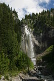 Comet Falls. At Mount Rainier National Park royalty free stock photo