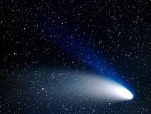 Comet HaleBopp Royalty Free Stock Images