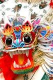 Cometa china hermosa del dragón Foto de archivo libre de regalías