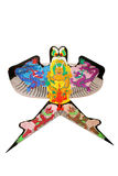 Cometa china hermosa del dragón aislada Imagen de archivo