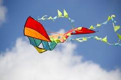 Cometa coloreada Foto de archivo libre de regalías