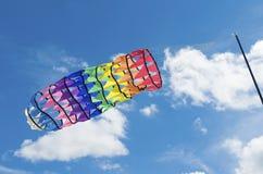 Cometa colorida Imagenes de archivo