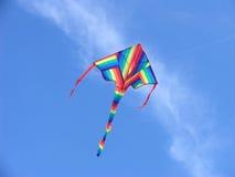 Cometa colorida Fotografía de archivo