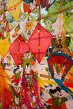 Cometa colorida Imágenes de archivo libres de regalías