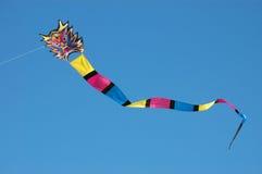 Cometa colorida del dragón Fotografía de archivo libre de regalías