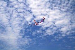 Cometa del vuelo Imágenes de archivo libres de regalías