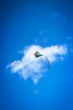 Cometa del vuelo Fotografía de archivo libre de regalías