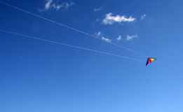 Cometa del vuelo fotografía de archivo