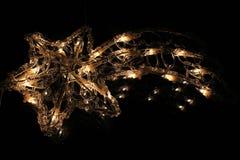 Cometa di Natale Fotografia Stock Libera da Diritti