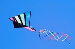 Cometa en vuelo Fotos de archivo libres de regalías