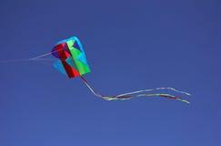 Cometa en vuelo Foto de archivo libre de regalías