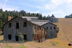 Cometa Montana Ghost Town Mill Fotografia de Stock