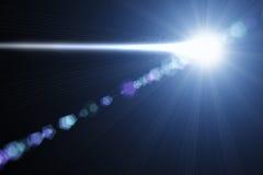 Cometa nello spazio illustrazione vettoriale