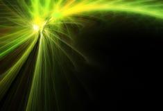 Cometa verde fotografie stock libere da diritti