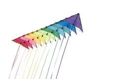 Cometas coloridas Fotografía de archivo libre de regalías
