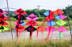 Cometas coloridas para la venta en Tailandia Fotografía de archivo libre de regalías